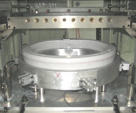 洗衣机平衡环热板焊接模具