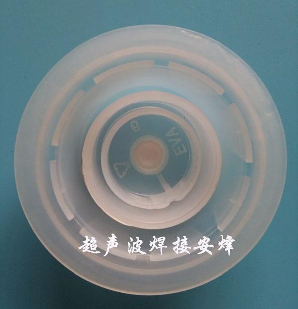 eva机油桶盖(小盖子)透气膜热熔热压焊接机