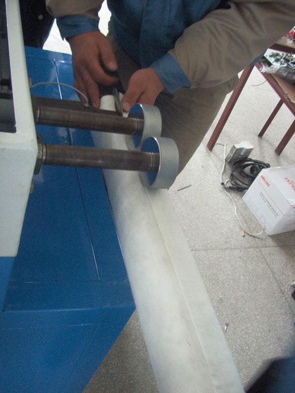 过滤袋中缝焊接