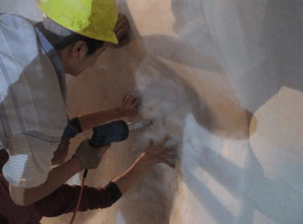 防水板超声波焊接施工