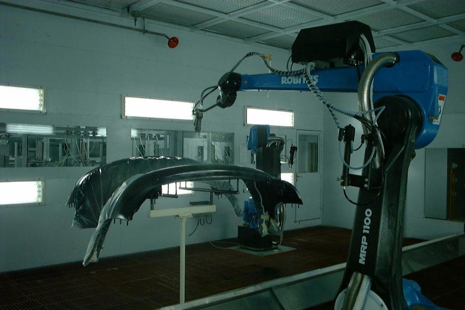 机器人超声波冲孔