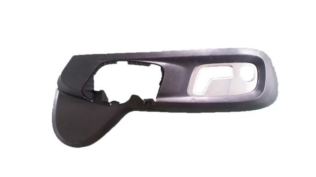 汽车座椅向外护板塑料柱用什么工艺焊接?