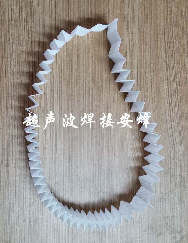 无纺布滤纸超声波焊接