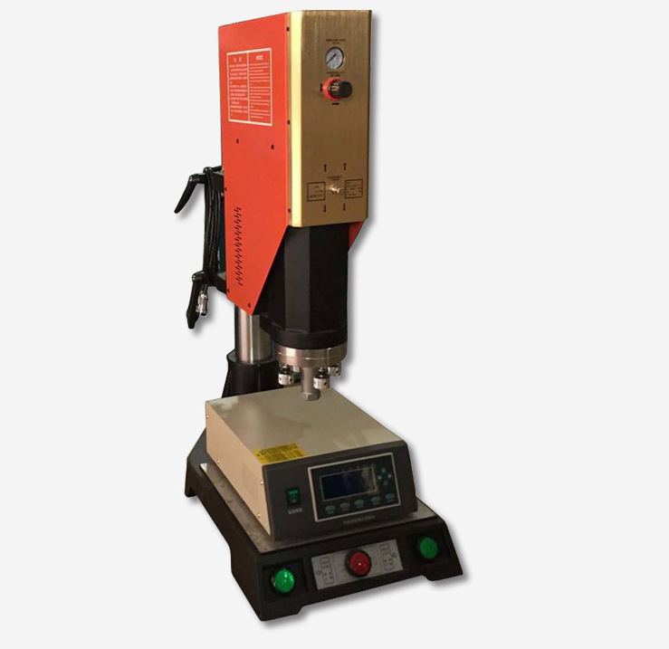 pc镜片与亚克力塑料框超声波压合焊接机