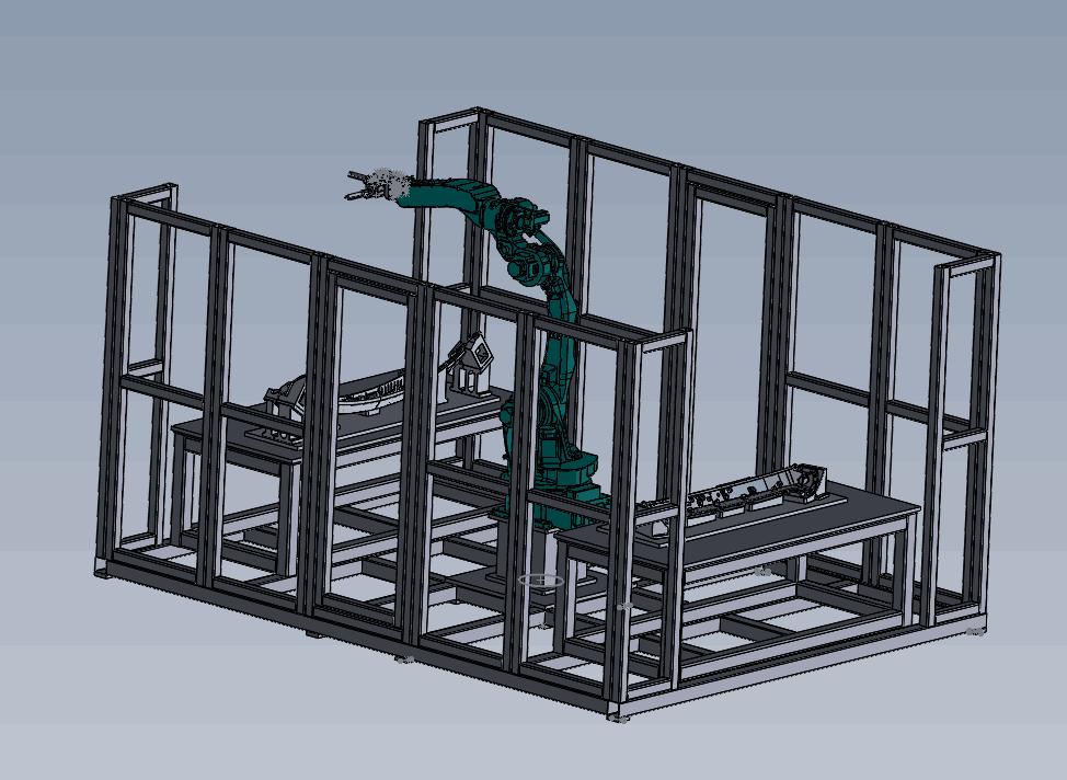 H型机器人超声波焊接机