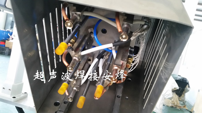 汽车脚踏板塑料柱热铆焊接工装