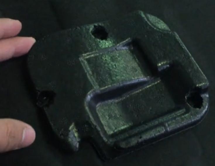 汽车发动仓下护板泡沫与毛毡超声波焊接