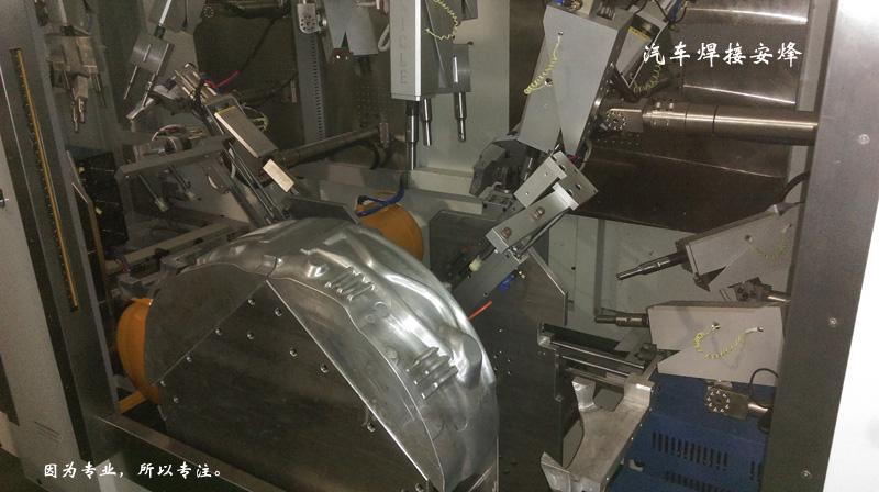 汽车轮毂吸音棉多头超声波点焊机
