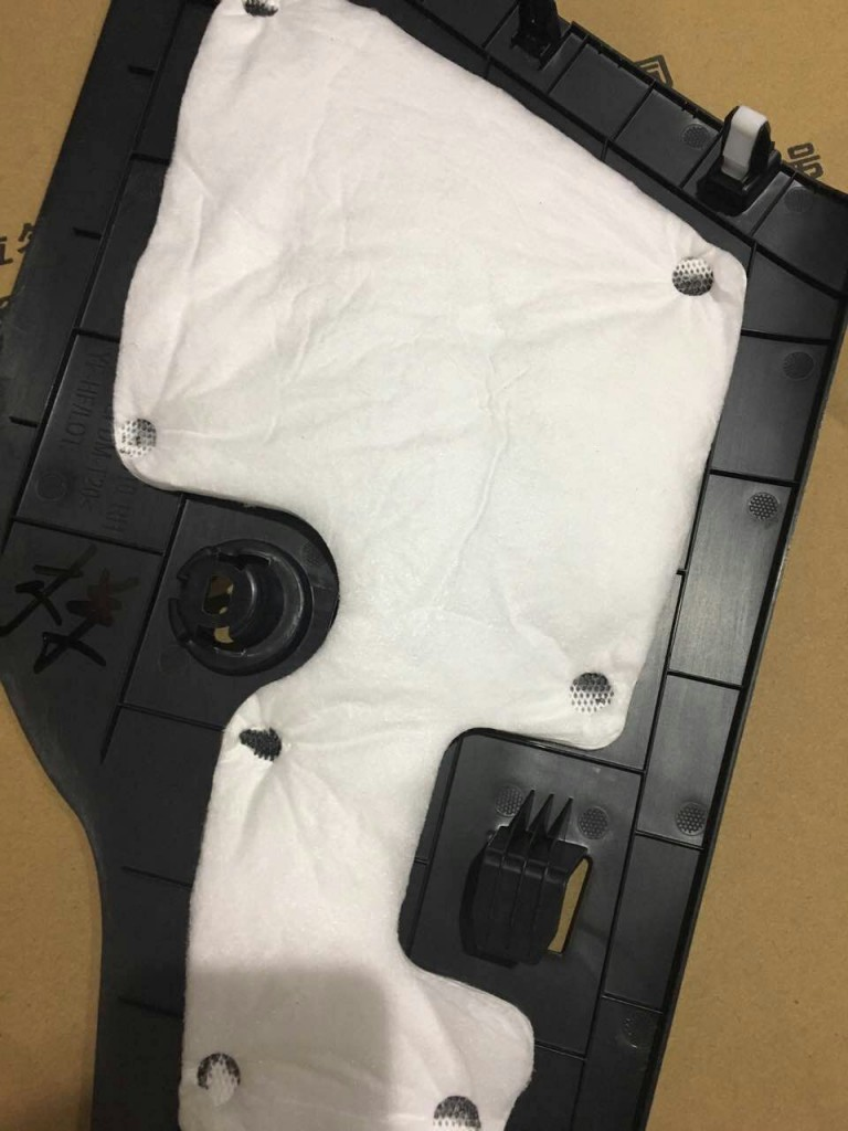 汽车隔音棉、吸音棉毡超声波焊接