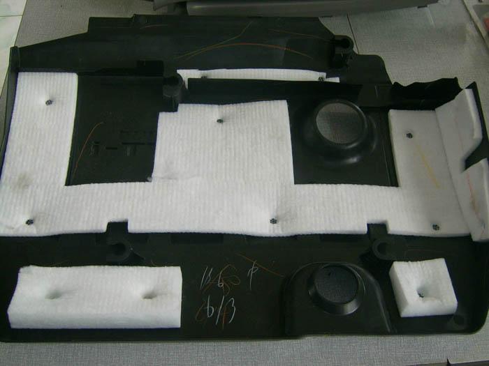 汽车隔音棉超声波焊接