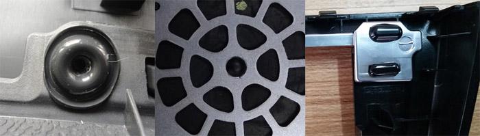 超声波铆点焊接效果
