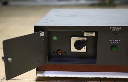 超声波焊接机音波检测的步骤