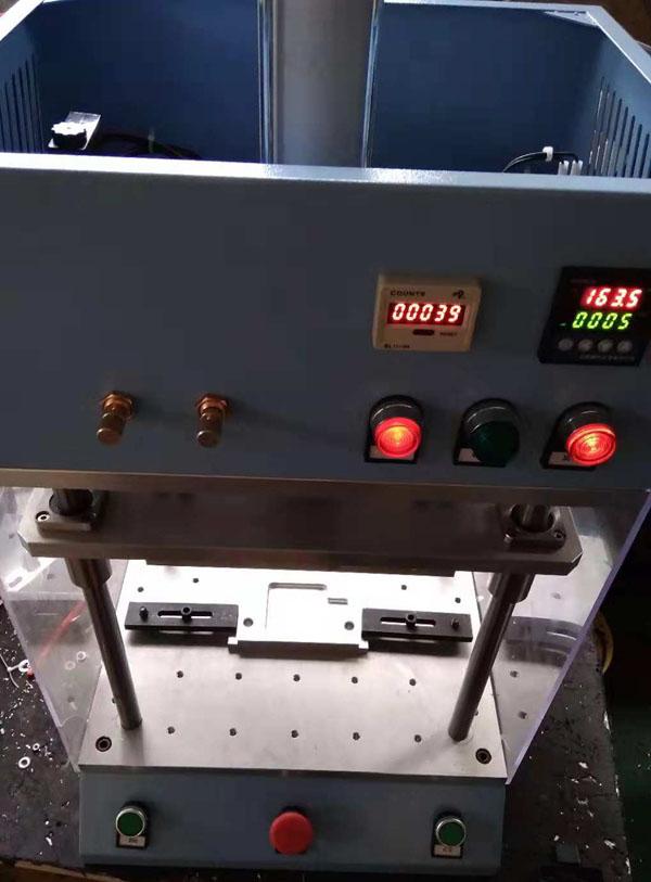 电子油门踏板传感器实心柱热熔热压焊接机