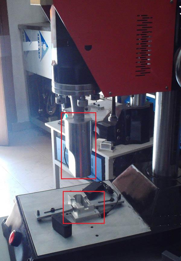 电子产品插座头超声波压合设备