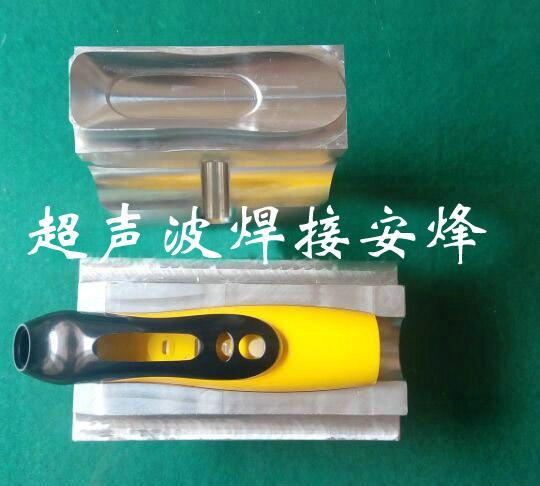 电动牙刷按钮盖超声波焊接模具
