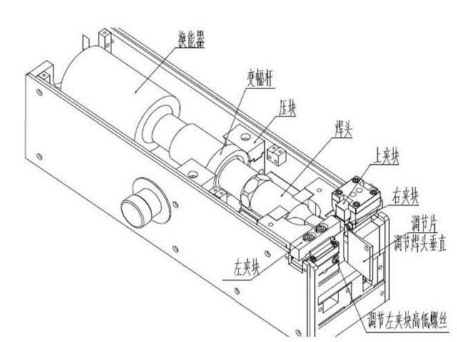 超声波线束焊接机结构