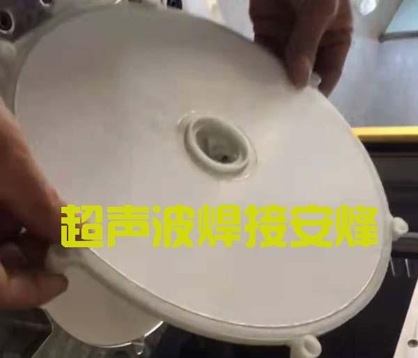 滑台式水过滤膜与塑料件热熔封合焊接机