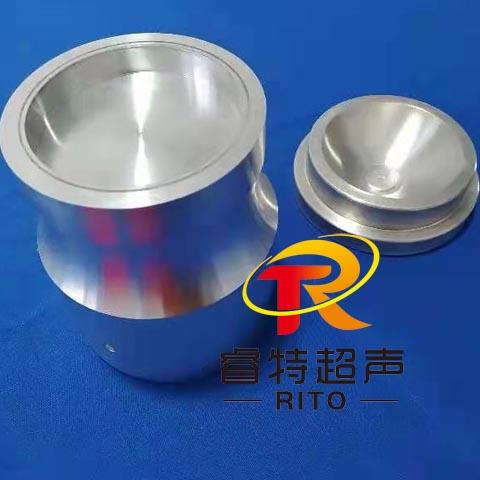 15K装沙子半圆球形外壳超声波铝合金模具焊头与工装治具图片