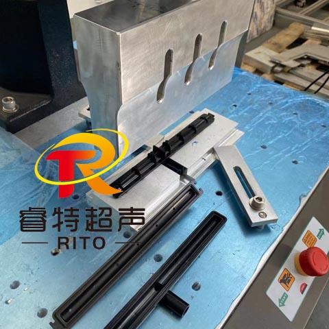 15K塑料杆子长条外壳组件4200W超声波压合焊接机