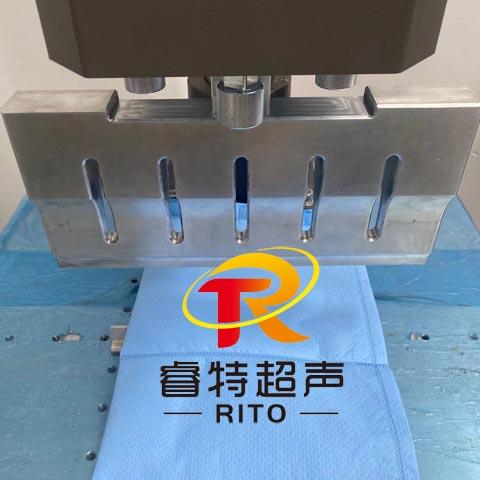 15K300mm长无纺布超声波压合焊接