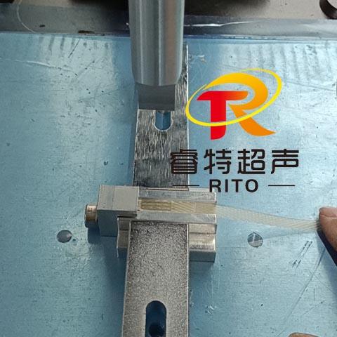 pp打包包装带超声波塑料粘合焊接机